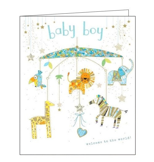 Woodmansterne dream big new baby boy card Nickery Nook
