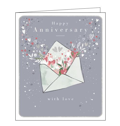 Woodmansterne envelope happy anniversary card