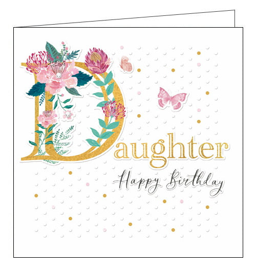 Woodmansterne espoir roses daughter birthday card Nickery Nook