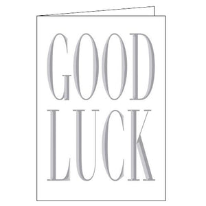 Woodmansterne good luck card Nickery Nook