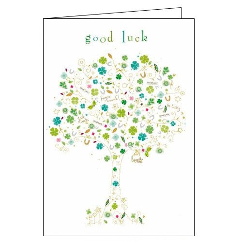 Woodmansterne kim anderson good luck card Nickery Nook