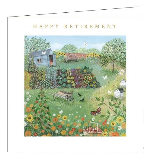 Woodmansterne lucy grossmith retirement bliss retirement card Nickery Nook