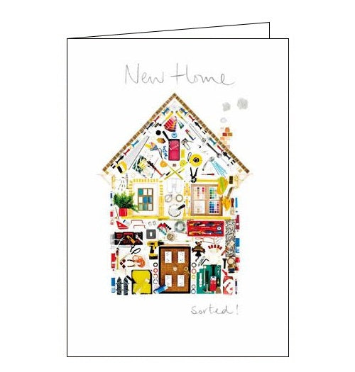 Woodmansterne perfectly arranged diy new home card Nickery Nook