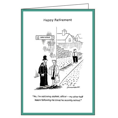 Woodmansterne recently retirement card