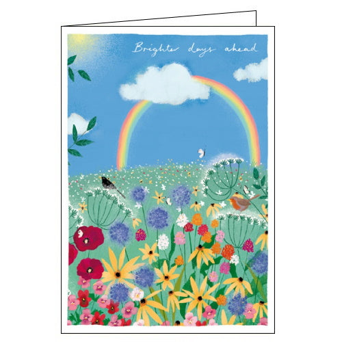Woodmansterne brighter days ahead get well card