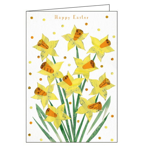 Woodmansterne daffodils easter card