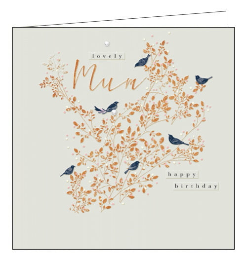Woodmansterne embellished luxury birthday card for mum