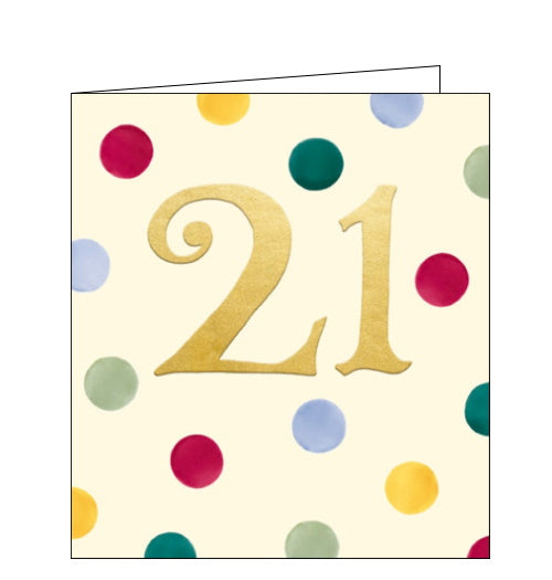 Woodmansterne emma bridgewater 21st birthday card