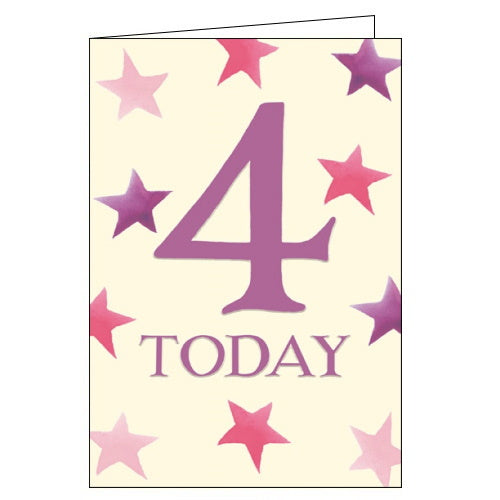 Woodmansterne emma bridgewater 4th birthday card