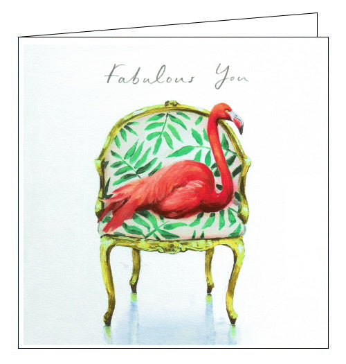 Woodmansterne flamingo sofa so good card