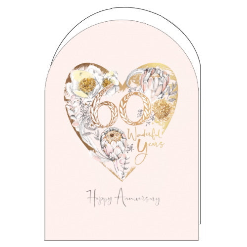 Woodmansterne golden wedding anniversary card