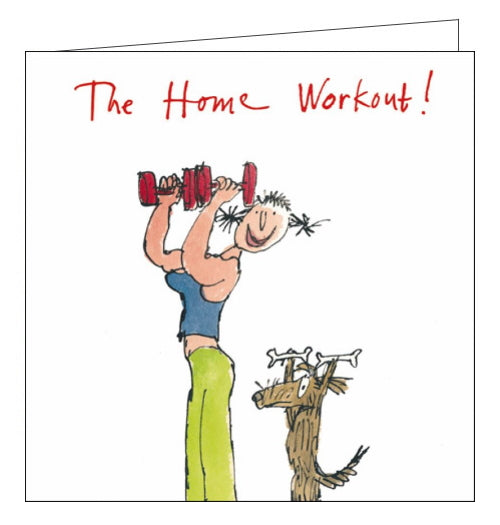 Woodmansterne quentin blake lockdown home workouts card