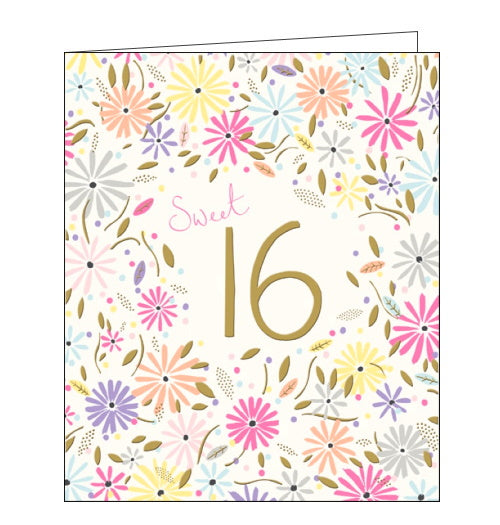 Woodmansterne sweet 16th birthday card