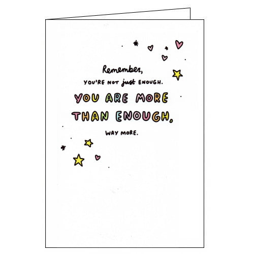 Woodmansterne veronica dearly you are more than enough card