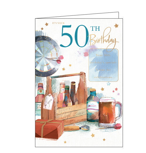 It's Your 50th Birthday - Greetings Card