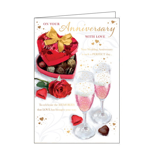 On Your Anniversary - Anniversary Card