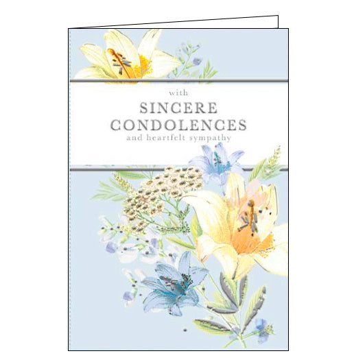 Words 'n' Wishes sincere condolences deepest sympathy card