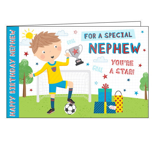 Happy Birthday Nephew - Birthday Card
