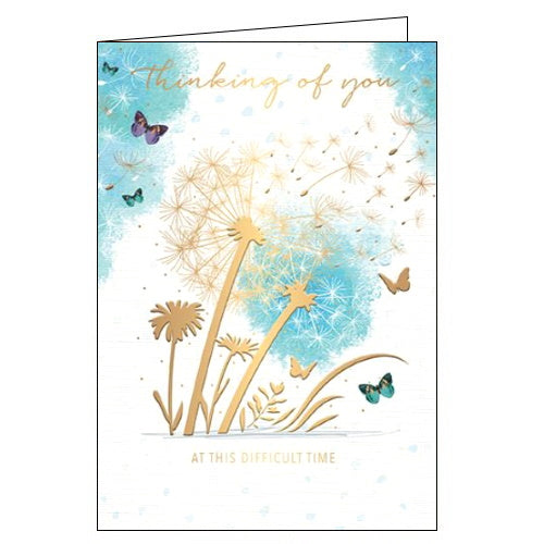 Words 'n' Wishes thinking of you card