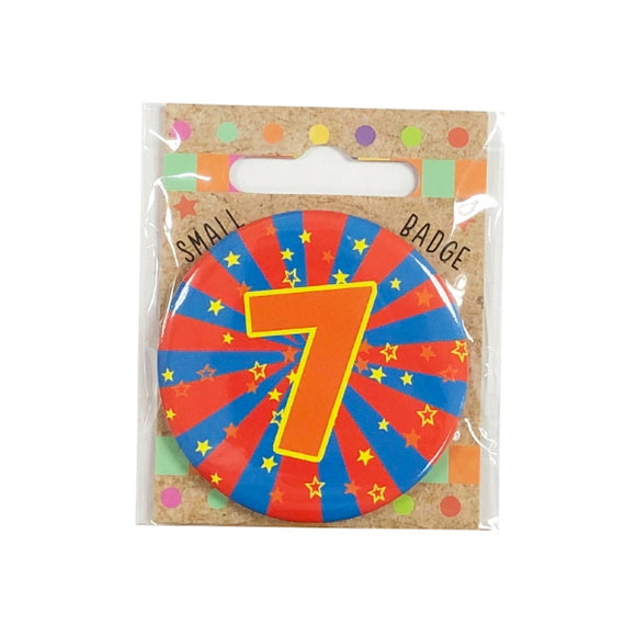 Xpressions 7th birthday badge 1