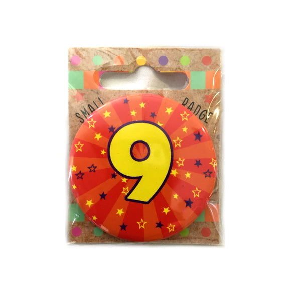 Xpressions 9th birthday badge