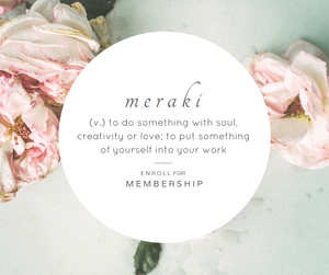 Meraki Warmth - Spa Membership