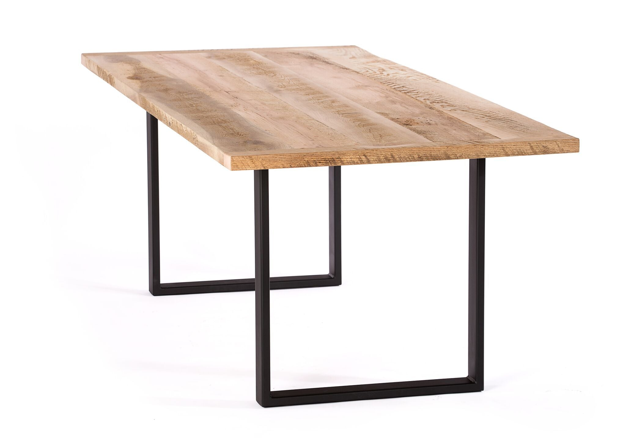 "Rectangular Wood Tables | Maddox Table | Ash | Ash | CUSTOM SIZE L 55 W 30 H 30 | 1.5"" Standard"