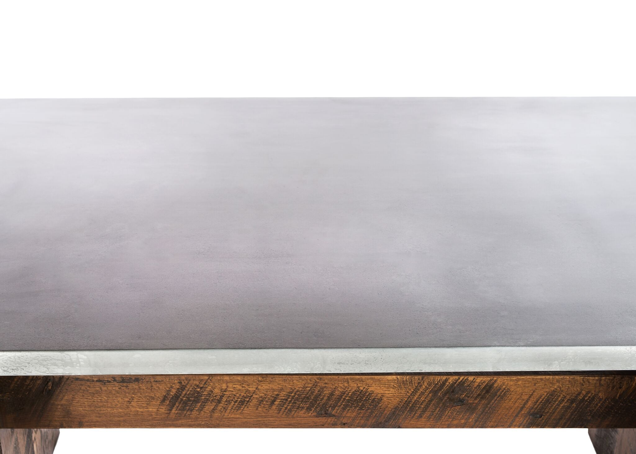 Zinc Table Tops | SIZE: 0 | QTY: 2 | EDGE PROFILE: Double Row of Rivets kingston-krafts-zinc-tables.