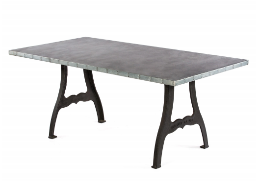 Williamsburg - Rectangular kingston-krafts-zinc-tables.