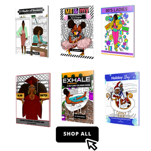 Black Women Coloring Books