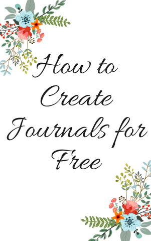 How to Create Journals for FREE