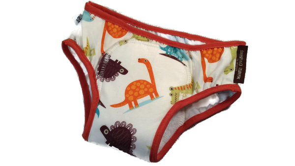 Toddler Boy's Training Underwear with Waterproof Pad - Dinosaurs - Jurassic 3126