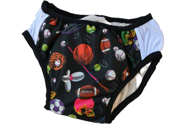 IN STOCK - Nighttime Waterproof YOUTH Bedwetting Underwear with Bamboo, Organic Cotton Soaker - Youth Boys