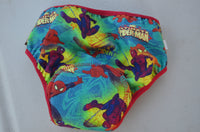 NEW COLOR Toddler Boy's Training Underwear with Waterproof Pad - Spider Man 3196