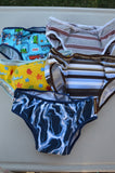 IN STOCK - Bamboo and Cotton YOUTH Incontinence Underwear with Waterproof Pad - Boys Size 5/6, 7/8, 9/10, 11/12