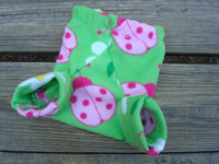 New Fleece Shortie Soakers - Newborn Girls Diaper Cover - Melissa 610