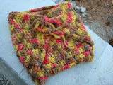 Custom Designed, Hand-Dyed, Toddler Boys Wool Wrap Soaker, Diaper Cover - Size Large - Sunnyside 382