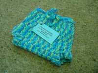 Newborn Baby Boy's Wool Shortie Soaker Diaper Cover - Sky 522