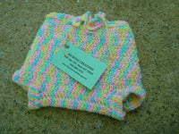 Newborn Baby Girls Wool Shortie Soaker Diaper Cover - Pastels 508