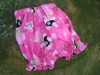 Waterproof pul Baby Girl's Shortie Pull Up Diaper Cover - Heaven 703