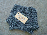 Newborn Baby Boy's Crocheted Wool Shortie Soaker Diaper Cover - Zebra 520