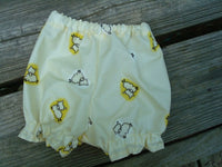Durable Vinyl Nighttime Infant or Toddler Waterproof Diaper Cover - Sleepy Sheep 798