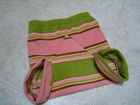 Toddler or Baby Girl's Funky Fleece Shortie Diaper Cover - Vermont 890