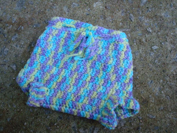 Newborn Baby Girls Wool Shortie Soaker Diaper Cover - Playtime 523