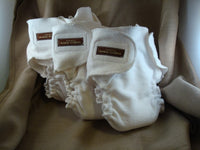 Natural Extra Absorbent Daytime Organic Bamboo Fitted Baby Cloth Diaper - Bamboo Sun 1809