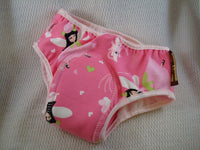 PREMIUM - Organic Cotton Toddler Girls Training Underwear with Waterproof Pad - Fairies 2781