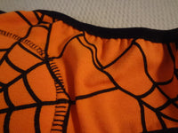 PREMIUM Cotton Toddler Boys Training Underwear with Waterproof Pad - Halloween Web 2740