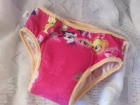 PREMIUM - Cotton Toddler Girls Training Underwear with Waterproof Pad - My Little Pony 3050