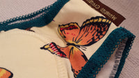 NEW COLOR Cotton Toddler Girls Training Underwear with Waterproof Pad - Bright Butterflies - Flutter 3118