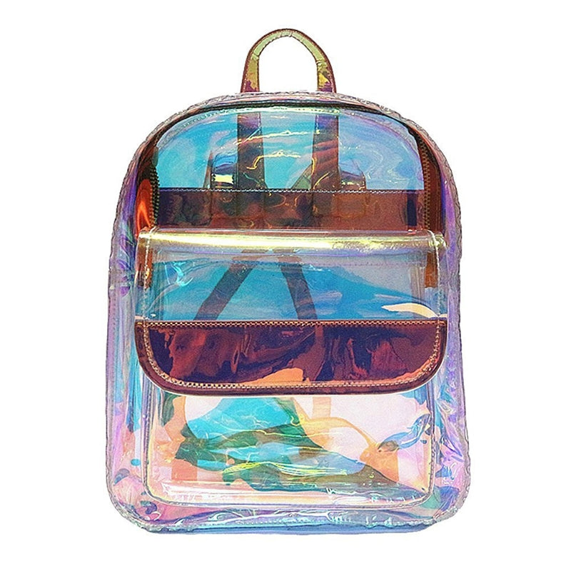 Clear backpack Travel accessories